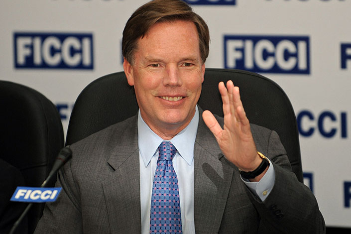 Nicholas Burns is picked as new U.S. ambassador to China. Photo: VCG