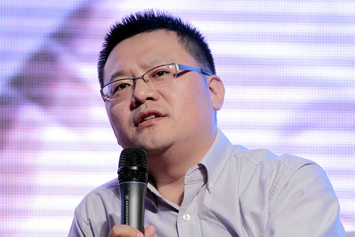Yu Yongfu will replace Li Yonghe as CEO of Alibaba Local Services Co. Li resigned in the wake of a sexual assault scandal that got nationwide attention. Photo: VCG