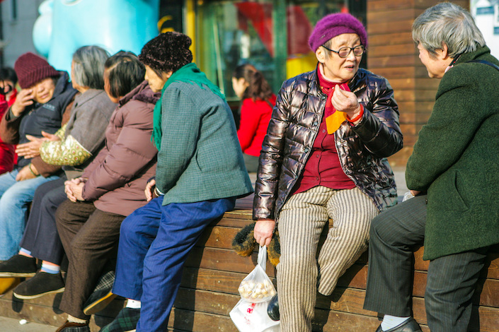 China has 260 million people age 60 or older, accounting for 18.7% of the population.
