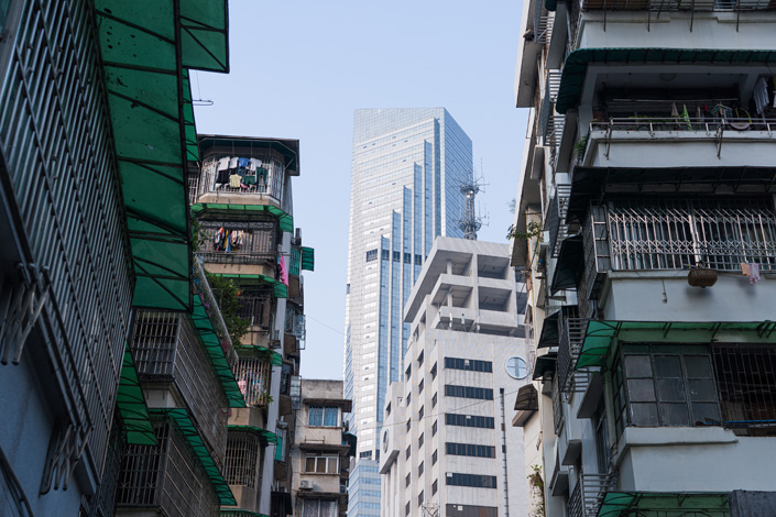 High-rise buildings in Guangzhou, South China's Guangdong province, in October 2019. Photo: VCG