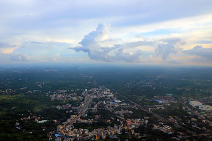 The scenery of Haikou, South China's Hainan province, on Wednesday. Photo: VCG