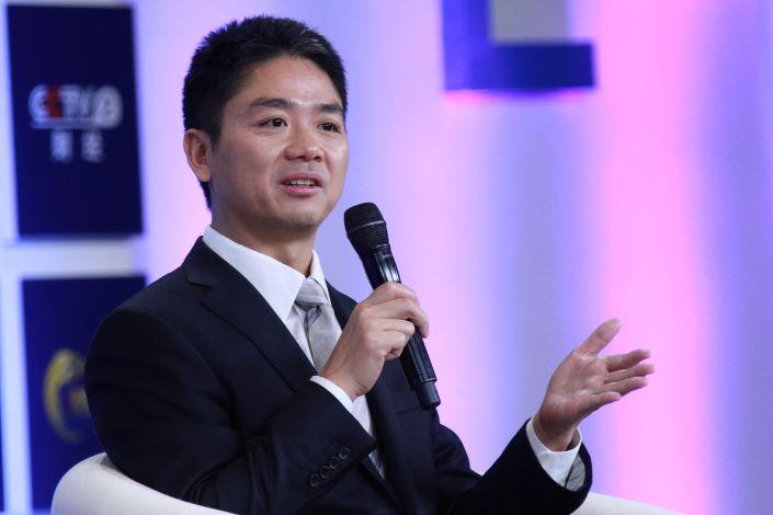 JD.com founder Richard Liu. Photo: VCG