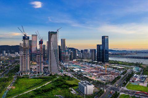 深圳前海深港合作区扩容 面积增加7倍