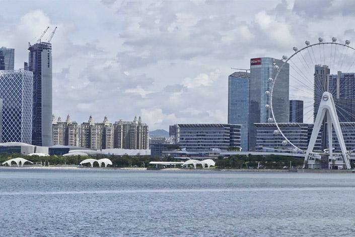 The CBD of Shenzhen's Bao'an district