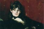 最美的油画《手持紫罗兰的摩里索特》:马奈对摩里索特的倾慕与爱恋|观展