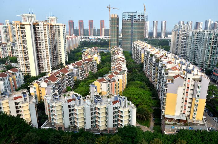 A residential development in Shenzhen's Nanshan district. Photo: VCG
