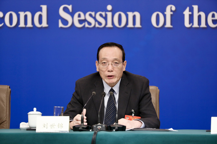 Liu Shijin, chief advisor of the China Council for International Cooperation on Environment and Development. Photo: VCG