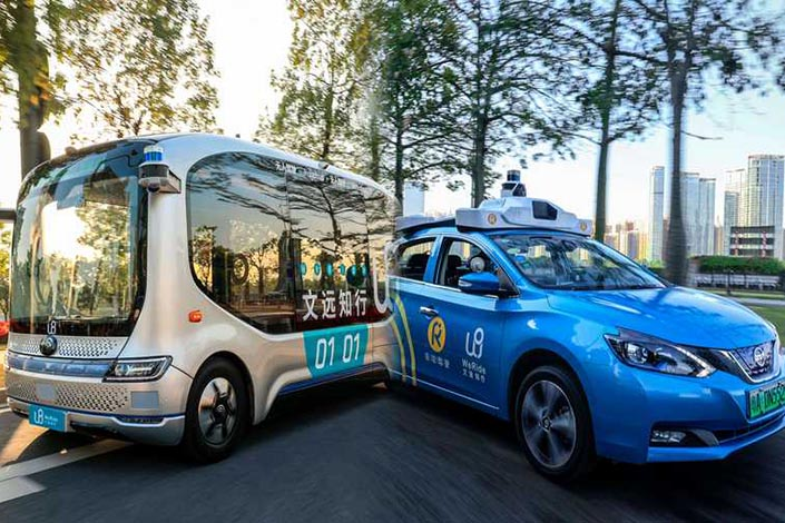 Trucks are seen as a low-hanging fruit in the pursuit of turning self-driving technology into a profitable business. Photo: weride.ai