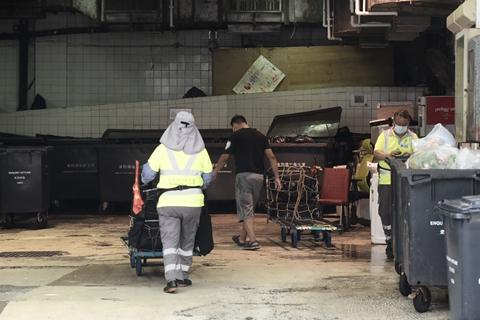 香港垃圾堆填区臭气飘至深圳 港环保署将出资治理
