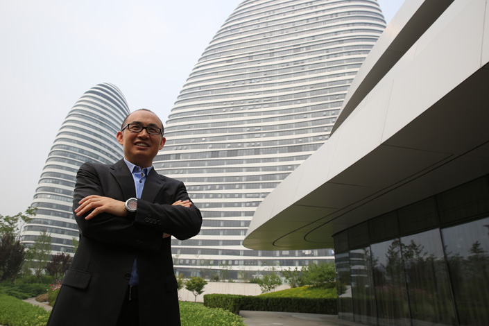 Pan Shiyi, founder of SOHO China. Photo: VCG