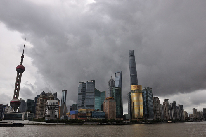 Typhoon Chanthu is expected to make landfall in the southern part of the city Monday night. Photo: Bloomberg