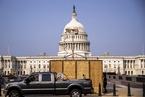 美国国会警察将在国会大厦外重设围栏