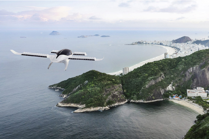 The future potential of the self-flying vehicle industry has also caught the attention of traditional aircraft manufacturers like Boeing and Airbus and automakers including Toyota, Geely and Xpeng. Photo: lilium.com