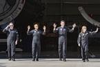 """Space X开展首次商业太空旅行 """"平民""""宇航员进入太空"""