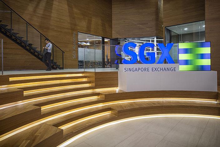Singapore Exchange Ltd. headquarters in Singapore in January 2015. Photo: VCG