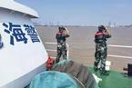 杭州湾海域一渔船沉没 4人失联1人正抢救