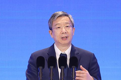 People's Bank of China Governor Yi Gang. Photo: VCG