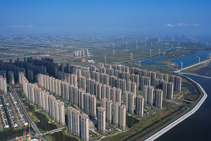 China Evergrande Group's onshore property unit says the interest payment issue for its 5.8% 2025 bond has been resolved. Photo: Bloomberg