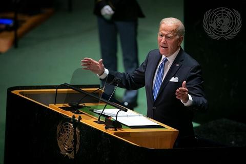 拜登称美国不寻求新冷战 指大国间有责任防止竞争变成冲突