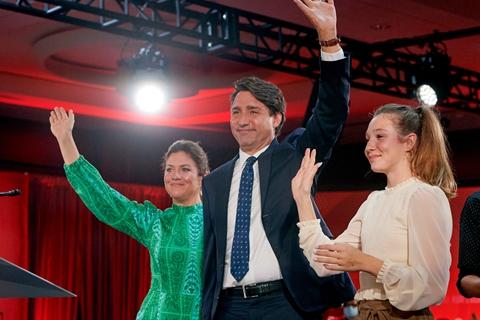特鲁多将连任加拿大总理 胜幅不如预期料延续少数执政