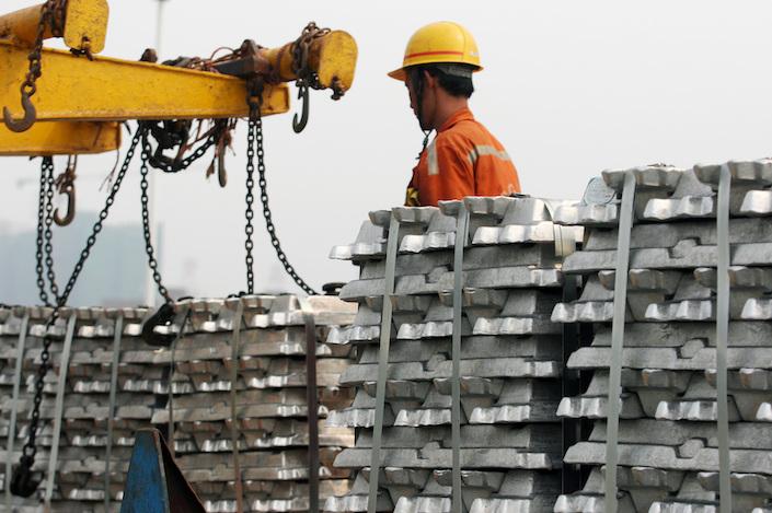 Yunnan is home to around 10% of China's aluminum capacity.