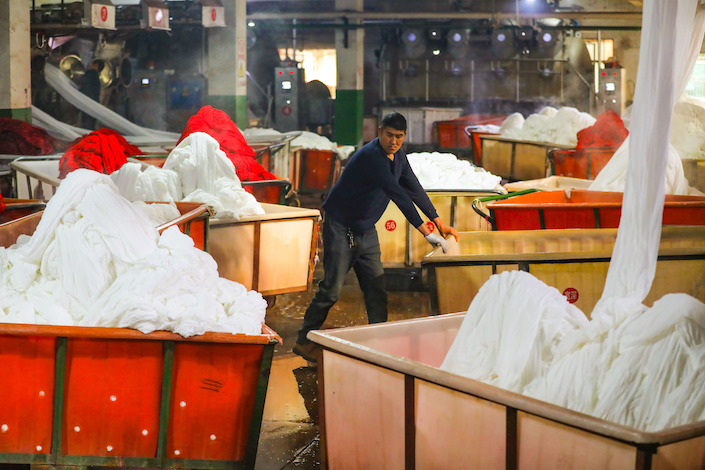 About 160 energy-intensive companies have been affected, mainly in the textile, dyeing and chemical fiber industries.