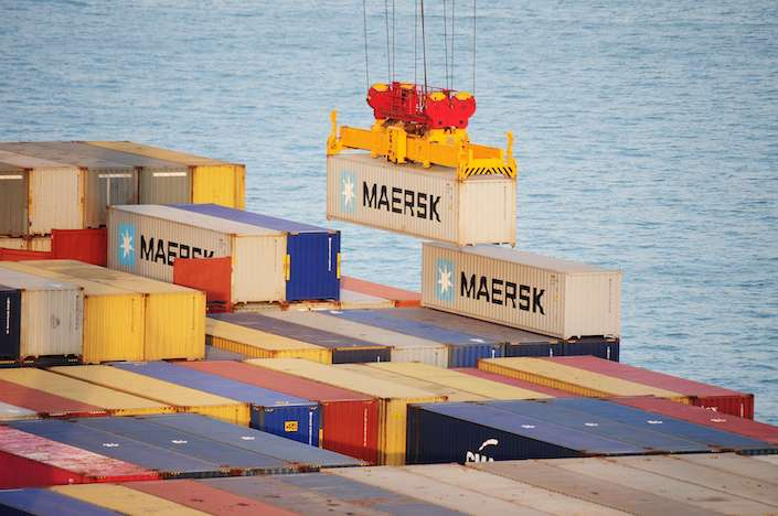 CIMC, the world's largest maker of shipping containers, controls over 40% of the global container market.