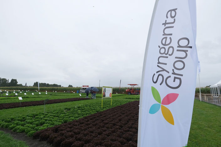 The Shanghai bourse has resumed a review of Syngenta Group's listing application. Photo: Bloomberg