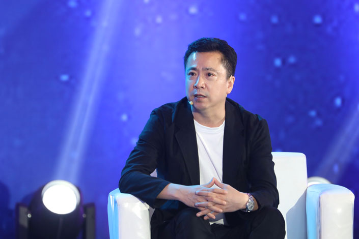 Wang Zhonglei, co-founder and CEO of Huayi Brothers Media Co. Ltd. Photo: IC Photo