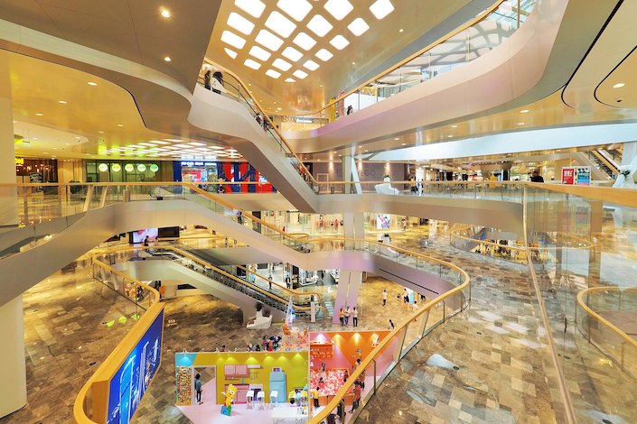 CapitaLand sold partial stakes in June in six commercial property projects in China.