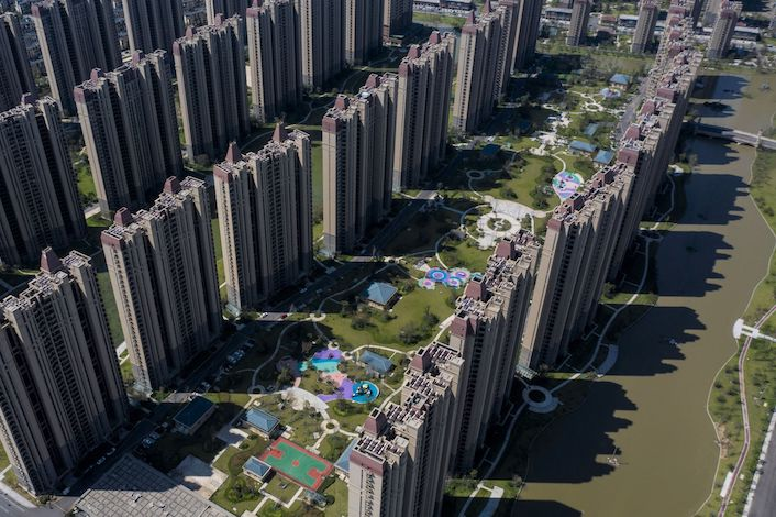 Concerns are growing that the Evergrande cash crunch is spilling over to other developers