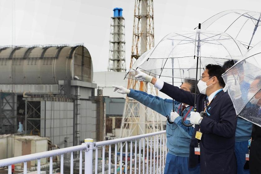 岸田文雄任日本首相后首次视察福岛核电站