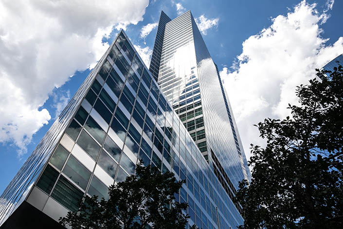 Goldman Sachs' headquarters in New York in July 2020. Photo: Bloomberg